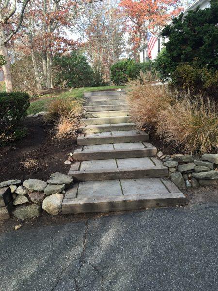 Beautiful stone stairway